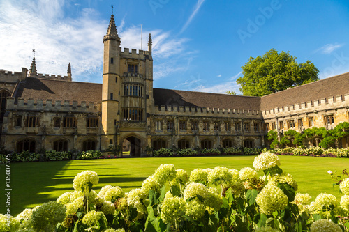 Obraz na płótnie Magdalen College, Oxford University