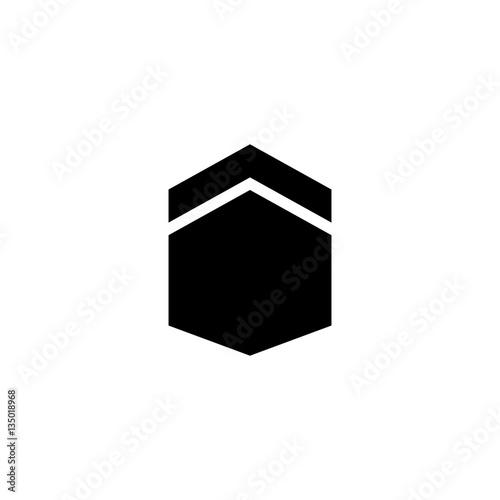 Islamic Kabah Hajj Icon Logo Vector Buy This Stock Vector And