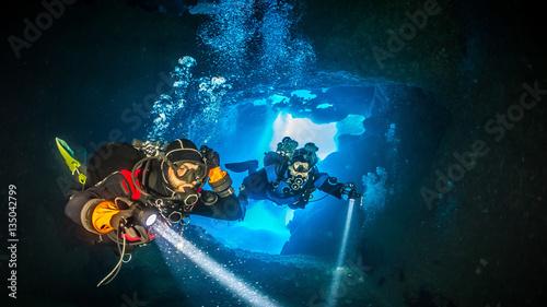 Diving Gozo Malta Wallpaper Mural