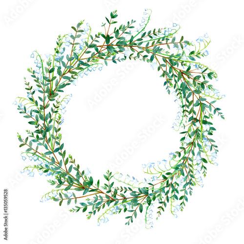 Fotografia  Floral wreath