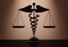 Medical Caduceus Symbol As Sca...