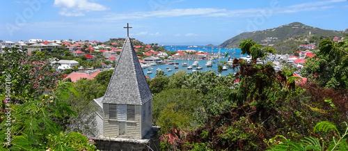 Foto auf Gartenposter Karibik Gustavia, Saint Barthélemy