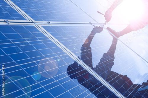 Obraz Solar installation - fototapety do salonu