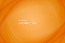 Vector Abstract Orange Background