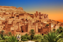 Kasbah Ait Ben Haddou In The A...