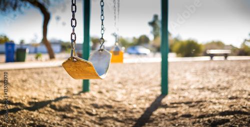 Fototapeta  Swings-Strap-Horiz