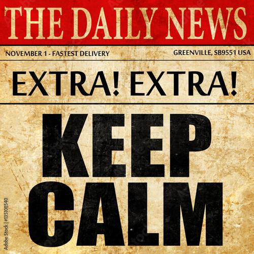 zachowaj-spokoj-tekst-artykulu-w-gazecie
