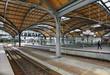Wroclaw Glowny railway station. Poland