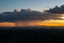Monsoon Moving Through Tucson