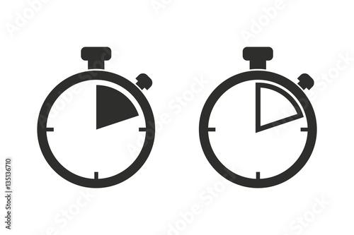 Foto Stopwatch - vector icon.