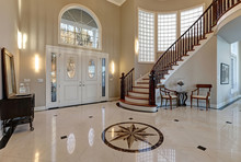Stunning Two Story Entry Foyer...