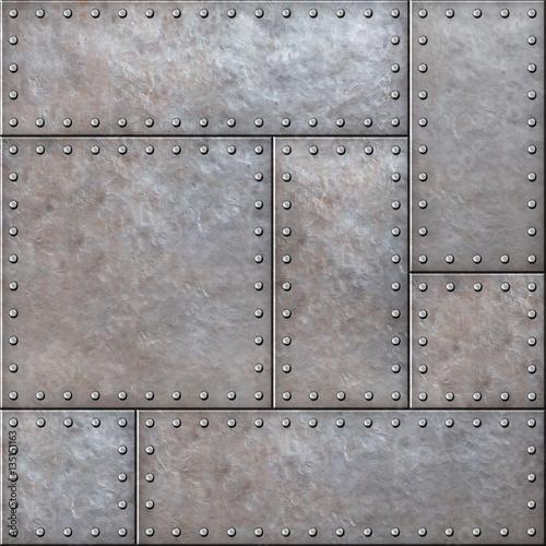 starzy-nieociosani-metali-talerze-z-nitow-bezszwowym-tlem-lub-tekstura