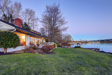 Lovely Waterfront Home With Private Dock