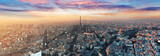 Fototapeta Paryż - Paris skyline - panorama