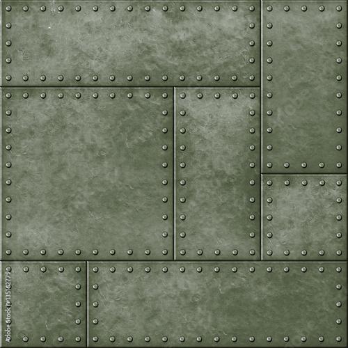 metalowe-wojskowe-zielone-bezszwowe-tlo-z-nitami