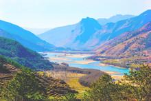 Yangtze River In Lijang, Yunnan Province, China
