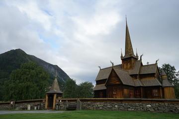 Fototapeta na wymiar Stave Church in Norway