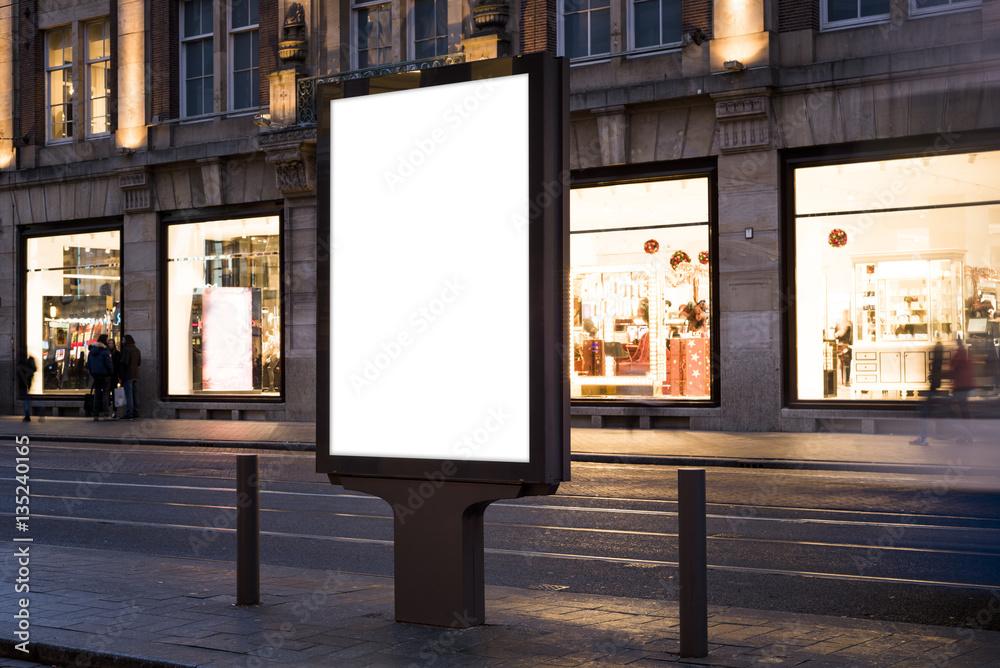 Fototapety, obrazy: billboard mockup