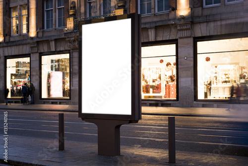 Fotomural  billboard mockup