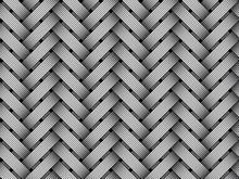 Vector Woven Fiber Seamless Pattern