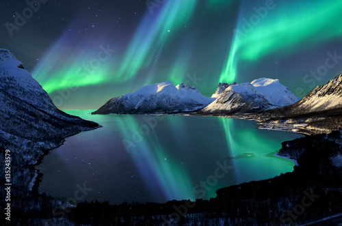 Recess Fitting Northern lights Norway
