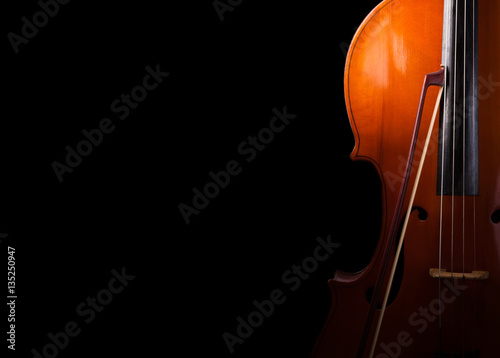 Cello close up Wallpaper Mural