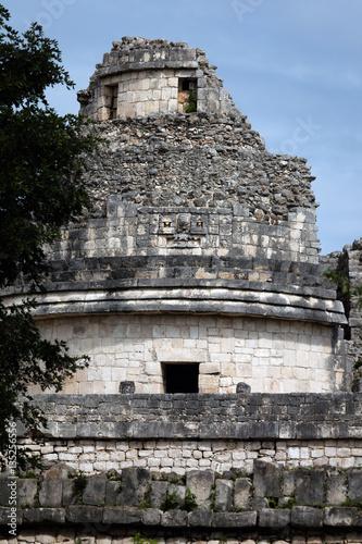 Ancient Mayan building called