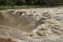 Flash Flood, Dangerous Phenomenon In Thailand