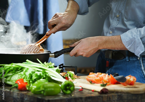 Canvas Prints Cooking Hotpot