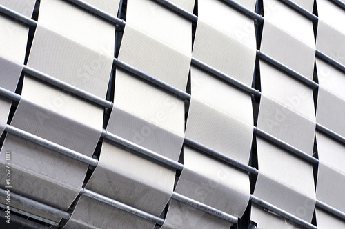 Foto op Canvas Stadion Detail of modern architecture. Architecture pattern