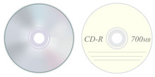 Compact Disc Front And Back