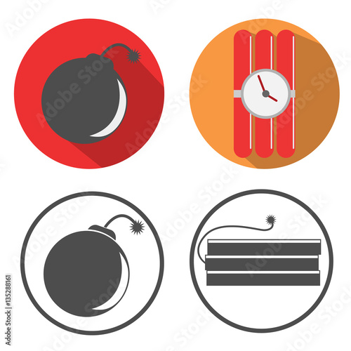 Tela  Dynamite and bomb icon