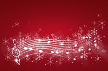 Winter Music Background