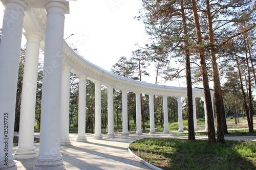 Foto op Plexiglas Historisch geb. Park