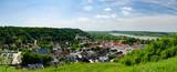 Fototapeta Miasto - Widok na Kazimierz Dolny z Góry Trzech Krzyży