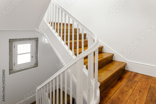 Photo Stands Stairs Beautiful Staircase With Hardwood Floor
