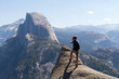 Taking pictures of Half Dome