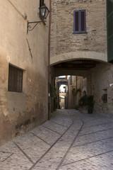 Fototapeta uliczka w Montefalco