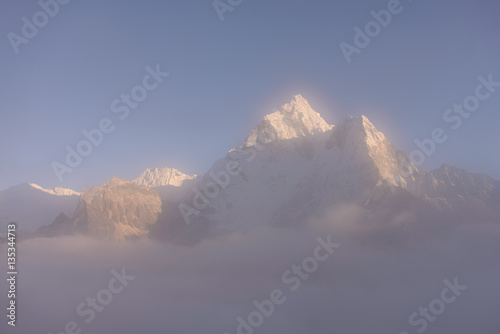 Photo Stands Night blue Ama-Dablam