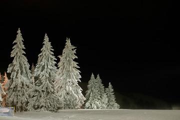 krajobraz góry zima