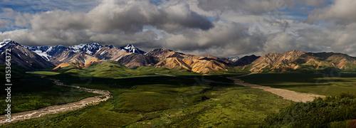 Fotografie, Obraz  Denali Park Panorama