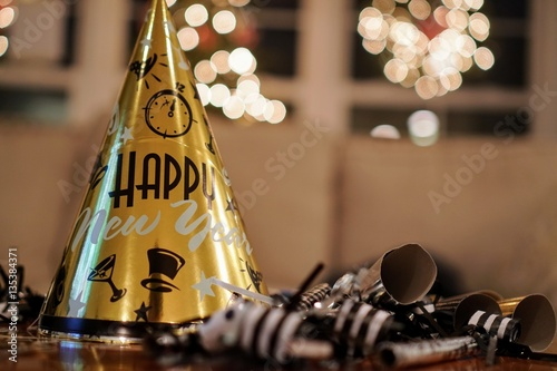 Photo New Years Eve Party Hat