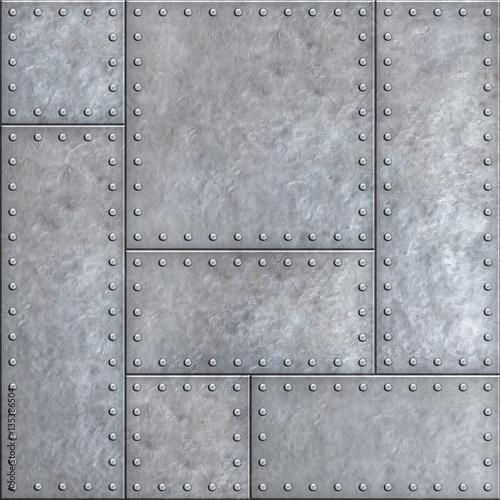 starzy-metali-talerze-z-nitu-bezszwowym-tlem-lub-tekstura