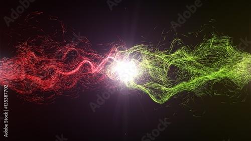 Fotografia  harmony and balance between the energy