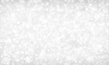 White Background With Sparklin...