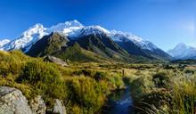 Mount Cook,Hooker Valley Track...