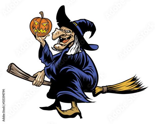 Fotografie, Obraz  halloween witcher