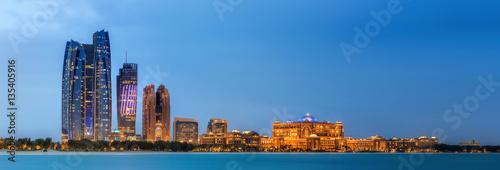 Foto op Plexiglas Abu Dhabi Abu Dhabi Skyline