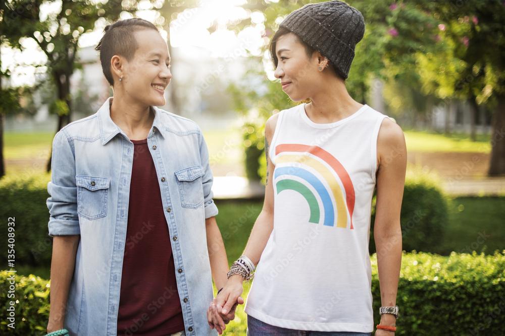 Lesbien dívka