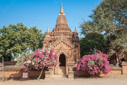 Small temple in Myanmar